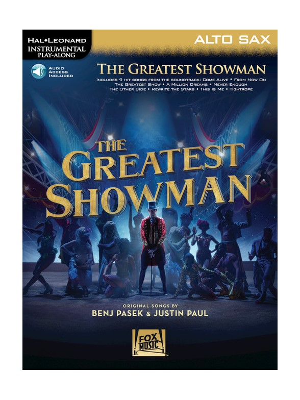 Instrumental Play-Along: The Greatest Showman - Alto Saxophone (Book/Online Audio)