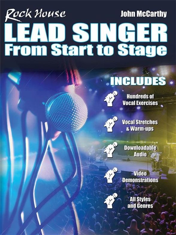 John McCarthy: Rock House - Lead Singer: From Start To Stage (Book/Online Video)