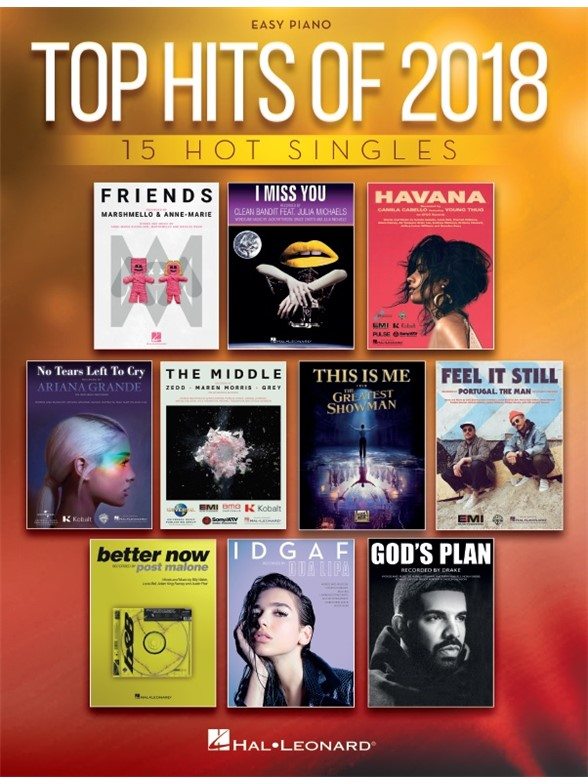 Top Hits Of 2018: Easy Piano