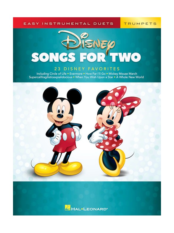 Easy Instrumental Duets: Disney Songs For Two Trumpets