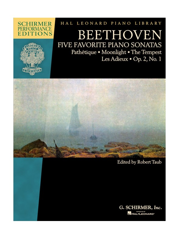 Beethoven: Five Favorite Piano Sonatas