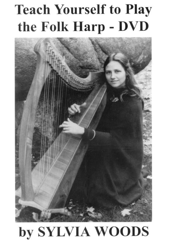Sylvia Woods: Teach Yourself To Play The Folk Harp (DVD)