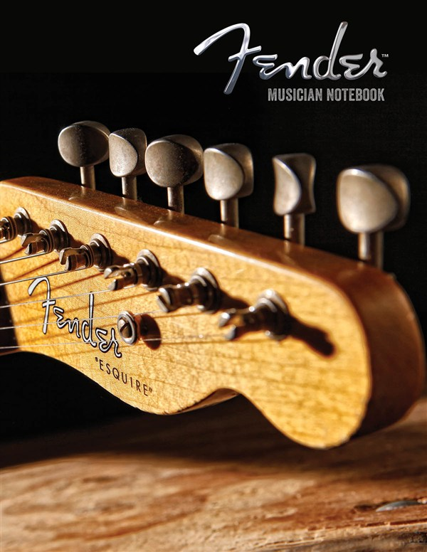 Fender: Musician Notebook - Guitarist Manuscript Paper