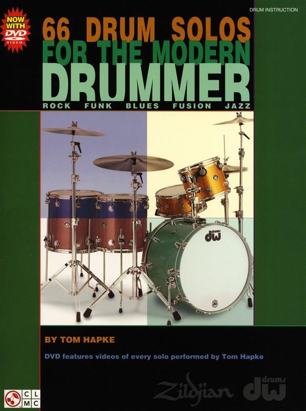 Tom Hapke: 66 Drum Solos For The Modern Drummer