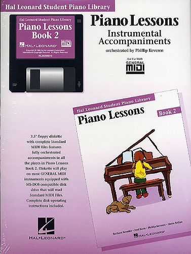 Hal Leonard Student Piano Library: Piano Lessons Book 2 (GM Disk)