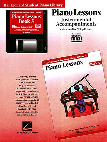 Hal Leonard Student Piano Library: Piano Lessons Book 5 (GM Disk)