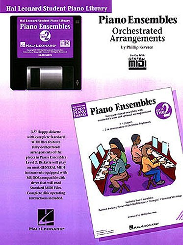 Hal Leonard Student Piano Library: Piano Ensembles Level 2 (GM Disk)