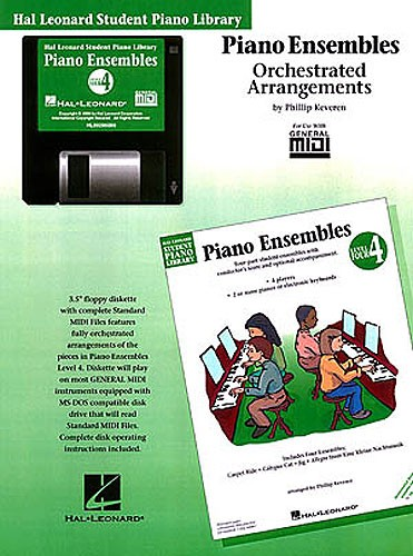 Hal Leonard Student Piano Library: Piano Ensembles Level 4 (GM Disk)