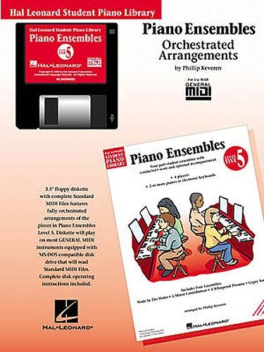 Hal Leonard Student Piano Library: Piano Ensembles Level 5 (GM Disk)