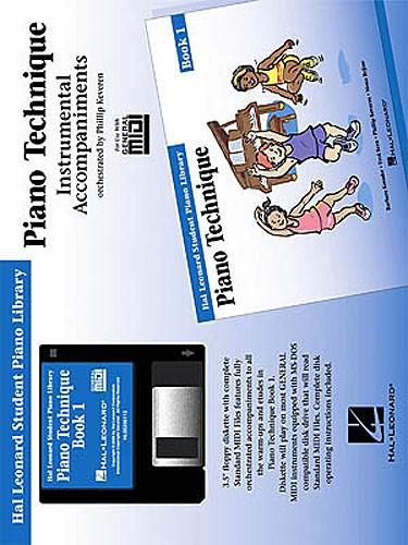 Hal Leonard Student Piano Library: Piano Technique Book 1 (GM Disk)
