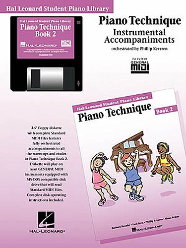 Hal Leonard Student Piano Library: Piano Technique Book 2 (GM Disk)