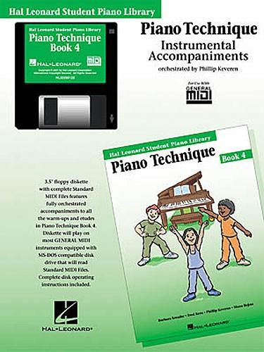 Hal Leonard Student Piano Library: Piano Technique Book 4 (GM Disk)