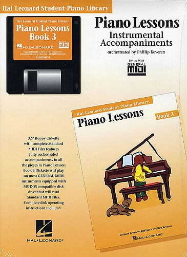Hal Leonard Student Piano Library: Piano Lessons Book 3 (GM Disk)