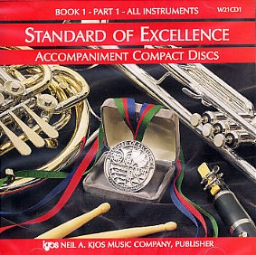 Standard Of Excellence: Comprehensive Band Method Book 1 - Part 1 (Accompaniment CD)