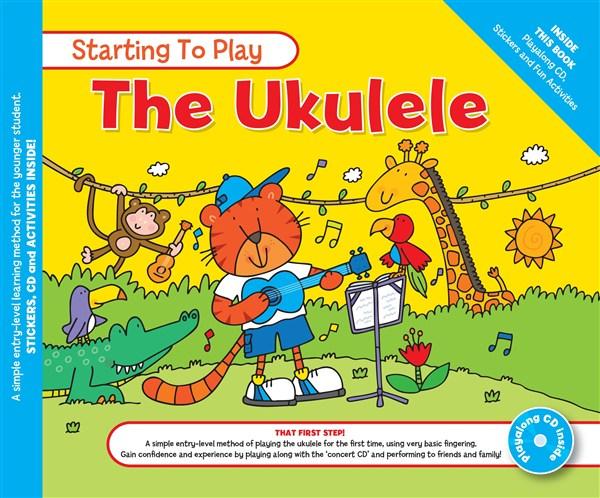 MUSIC FOR KIDS: Starting To Play Ukulele BK/CD