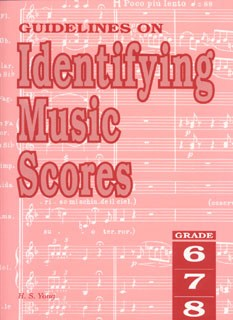 Guidelines On Identifying Music Scores Grade 6 To 8