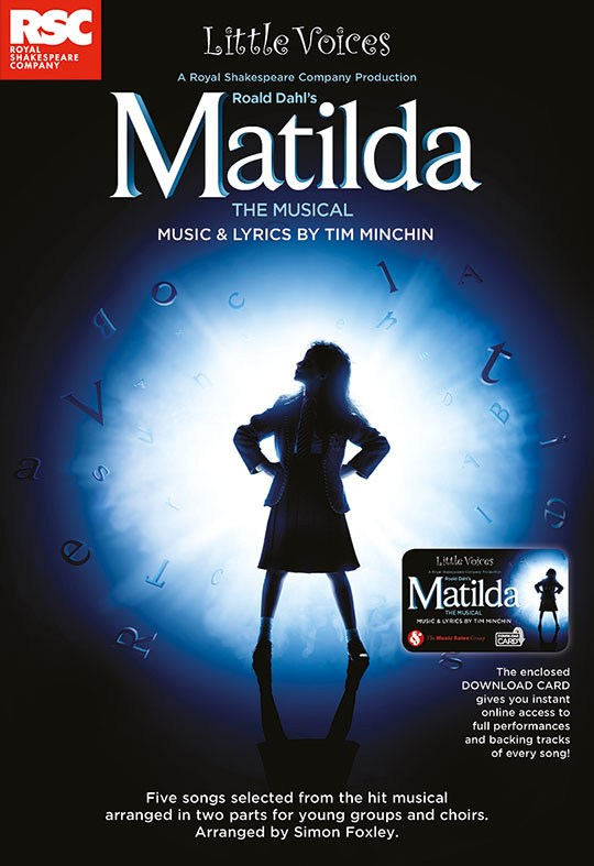 Little Voices: Matilda The Musical (Book/Audio Download)