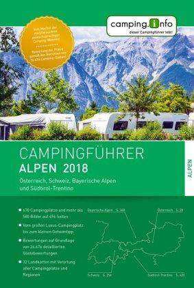 Campingführer Rund um die Alpen 2018